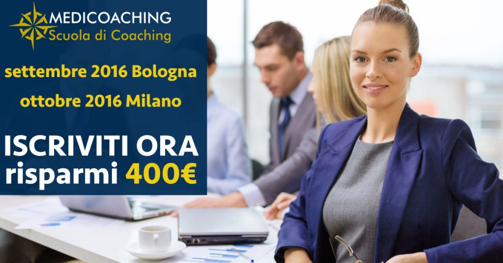 promozione corso coaching bologna e milano