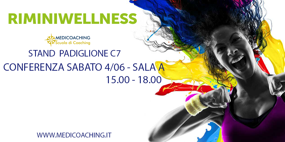 Medicoaching presente a Rimini Wellness 2016